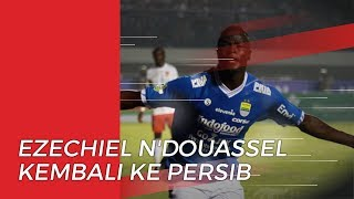 Ezechiel N'Douassel Kembali ke Persib Bandung seusai Tinggalkan Timnas Chad