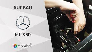 Aufbauvideo - Kinder Elektroauto Mercedes ML350 - Deutsch