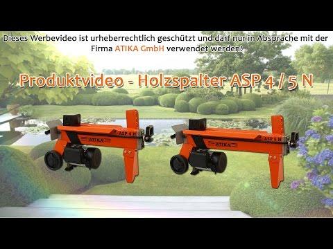 ATIKA Produktfilm - Holzspalter ASP 4 / 5 N