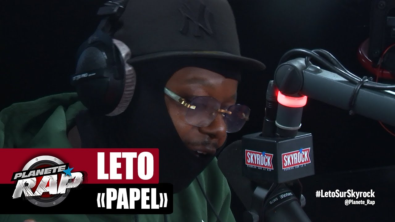 "[EXCLU] Leto ""Papel"" #PlanèteRap"