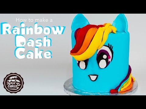 ouvir musica how to make a rainbow dash pony cake my little pony