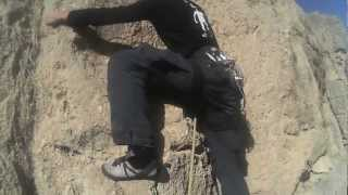 preview picture of video 'Escalade Iran Bisotun webpisode 2 : Climbing'