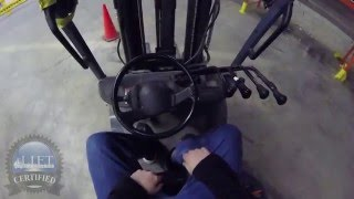 How To Operate/Drive a Forklift - GOPRO 1080p -  Forklift Training Point Of View From The Operator!