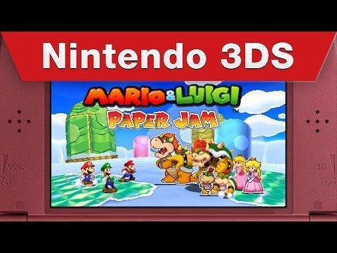 Mario & Luigi: Paper Jam - Just the Fax Trailer thumbnail