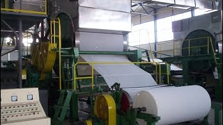 Hot Selling 1575mm Toilet Tissue Paper Machine,toilet Tissue Paper Making Machine Line