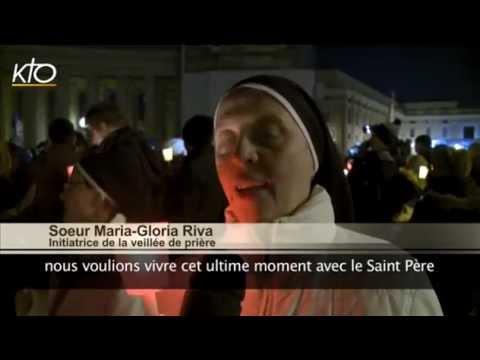 Veillée de prière place Saint-Pierre