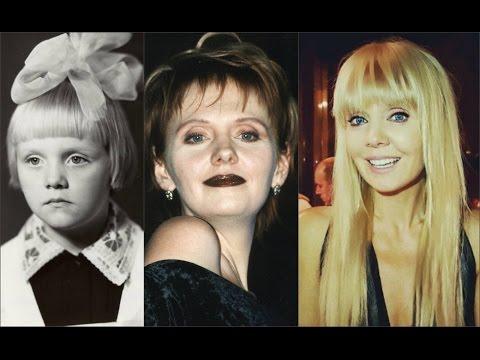 Валерия в детстве,в молодости и сейчас