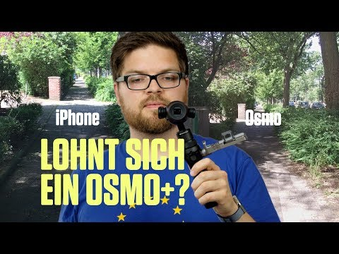 DJI Osmo+ Kamera und Gimbal ausprobiert - Flop für Vlogs?