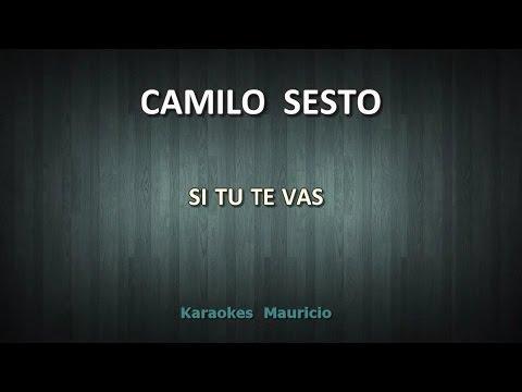 Si tú te vas Camilo Sesto