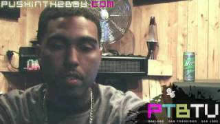 Clyde Carson PTBTV Interview Pt. 2 (Mistah F.A.B. sean kingston WYCLEF ya boy LOON nas DRE)