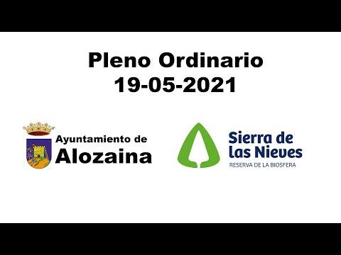 PLENO ORDINARIO 19-05-2021