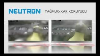 Neutron IP Kamera Yağmur   Kar Koruyucu Glass Sheild