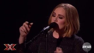 "Adele Says ""Hello"" to The X Factor Finale - The X Factor UK on AXS TV"