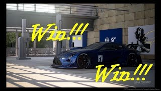 Gran Turismo Sport online race gr.4 three wins in row