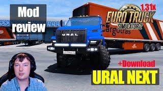 ETS2 1.31 MODS URAL NEXT Обзор Модов Euro Truck Simulator 2