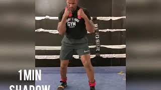 At Home Boxing Training With Todd Stoute