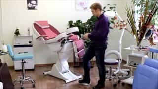 Педикюрное косметологическое кресло «Нега» (электропривод, 5 моторов) (Стандарт 200/215) от компании ФОРМУЛА САЛОНА - видео 1