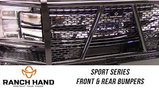 In the Garage™ with Total Truck Centers™: Ranch Hand Sport Series Front and Rear Bumpers