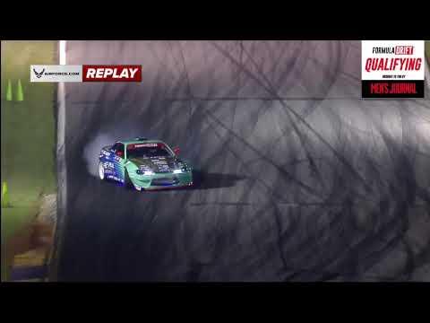 オディ・バッケス(S15)の予選ドリフト動画 フォーミュラドリフト 開幕戦アトランタ