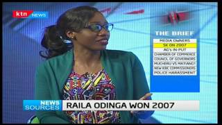 News Sources: AG backs the electronic stalemate brought on by IEBC and unprepared MP's,3/1/17 part 1