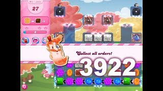 Candy Crush Saga Level 3922 (No boosters)