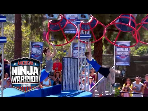 American Ninja Warrior Junior EP 2 FULL OPENING CLIP | Universal Kids