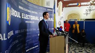 #Prezidenţiale2019/BEC - prezenţa la urne: Până la ora 9,00, au votat 3,52% dintre alegători