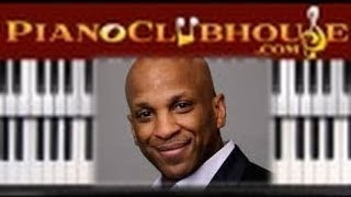 """♫ How to play """"WE FALL DOWN"""" (Donnie  McClurkin) - piano tutorial ♫"""