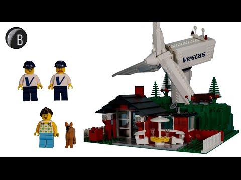 Lego Creator Expert 10268 Vestas Wind Turbine Official