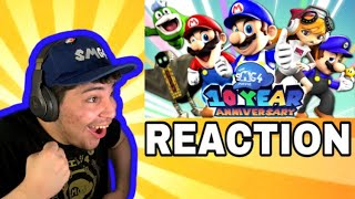 """SMG4 Movie: 10 Year Anniversary Special [Reaction] """"Time to celebrate"""""""
