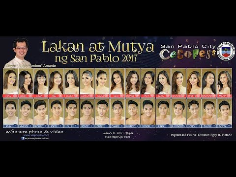 Lakan at Mutya ng San Pablo 2017 | Featured Event