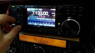 TS-590S Vs IC-7300+external Speaker