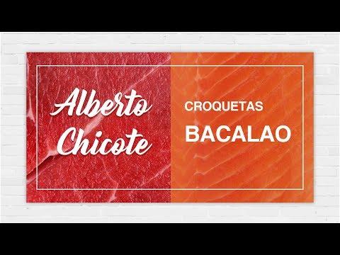 CROQUETAS DE BACALAO  (masa)  ALBERTO CHICOTE