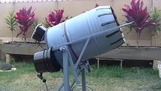 How to build a 55 gal concrete mixer.