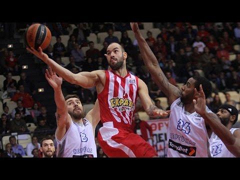 Highlights: Olympiacos Piraeus-Neptunas Klaipeda