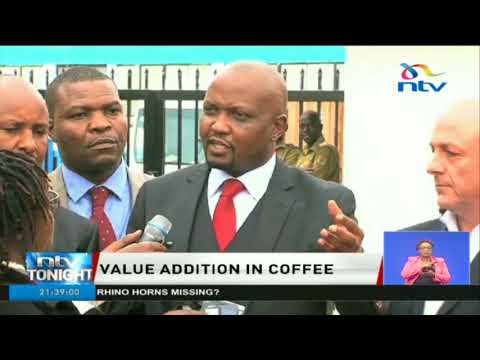 Moses Kuria to table bill in parliament banning export of raw coffee
