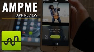 AmpMe App Review! Be The Speakers...