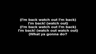 Dope - i'm back with lyrics.