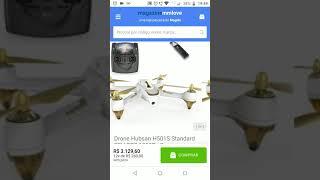 Drone Hubsan H501S Standard FPV GPS 1080P - Branco (Link de compra na descrição)