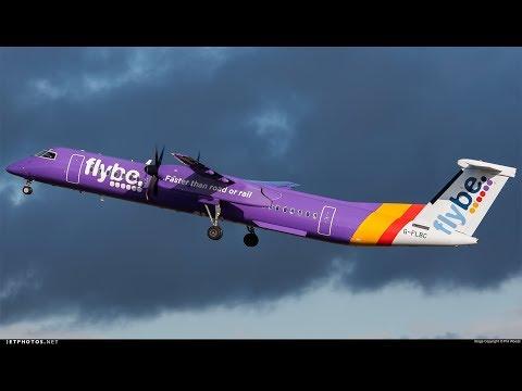 Prepar 3D v3 4 Flybe Dash 8 Q400-Southampton to Amsterdam
