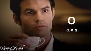 Learn The Alphabet With Elijah Mikaelson | Daniel Gillies Source