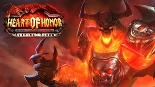 Heart of Honor: Burning Blood- GamePlay Trailer Android/Ios- HD