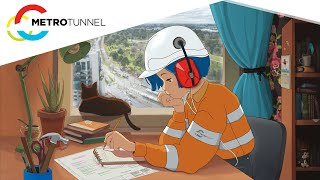 Five hours of Metro Tunnel works 👷 - construction footage to study/relax to