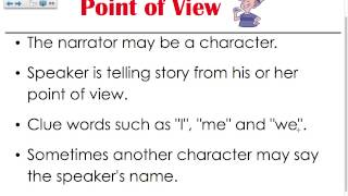 Point Of View (3rd Grade)