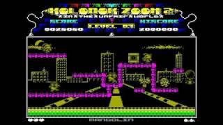 [ZX Spectrum] Kolobok Zoom 2: In The Unfair World (Freeart, game, 1998)