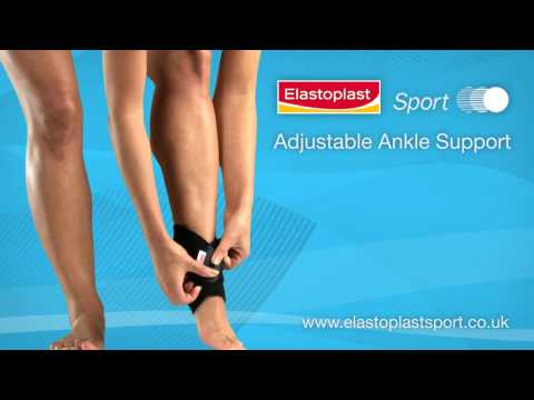 Ankle Support 'how to apply' Video by Elastoplast Sport