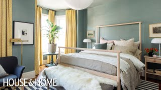 A Colorful IKEA Bedroom Makeover