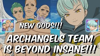 Full Archangels Team is BEYOND INSANE - New PVP Gods - Seven Deadly Sins: Grand Cross