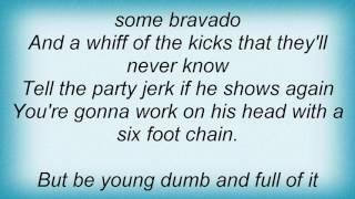 Adam Ant - Young Dumb And Full Of It Lyrics