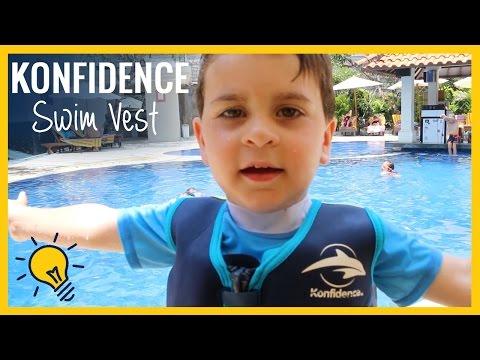 REVIEW  I   Konfidence Swim Vest in action